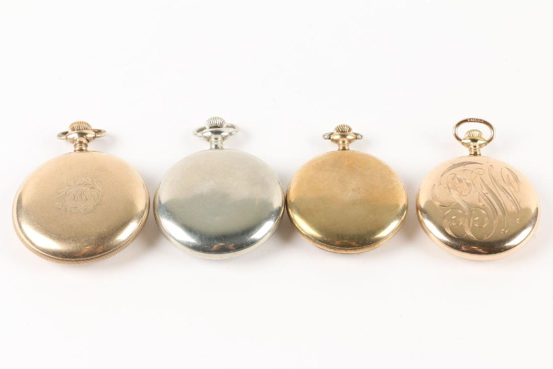 American, Open Face Pocket Watches - 3
