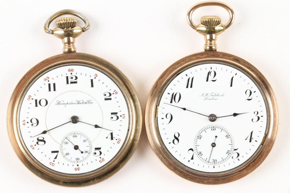American, Open Face Pocket Watches - 4