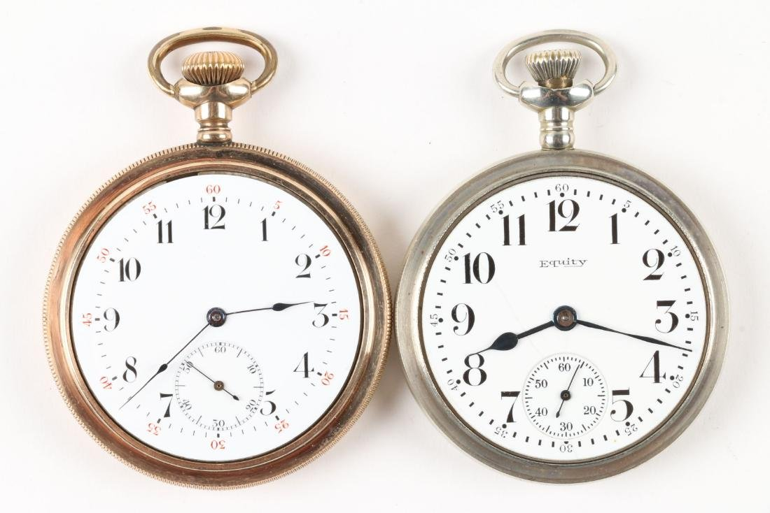 American, Open Face Pocket Watches - 5