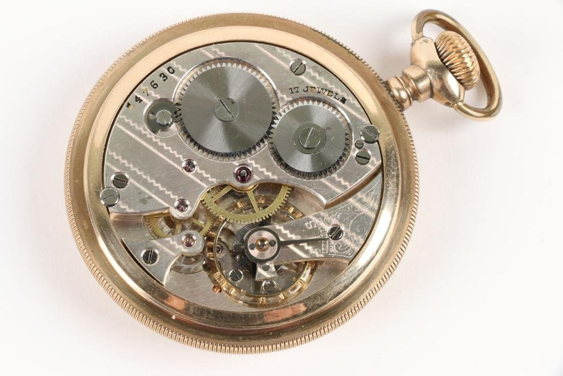 American, Open Face Pocket Watches - 8