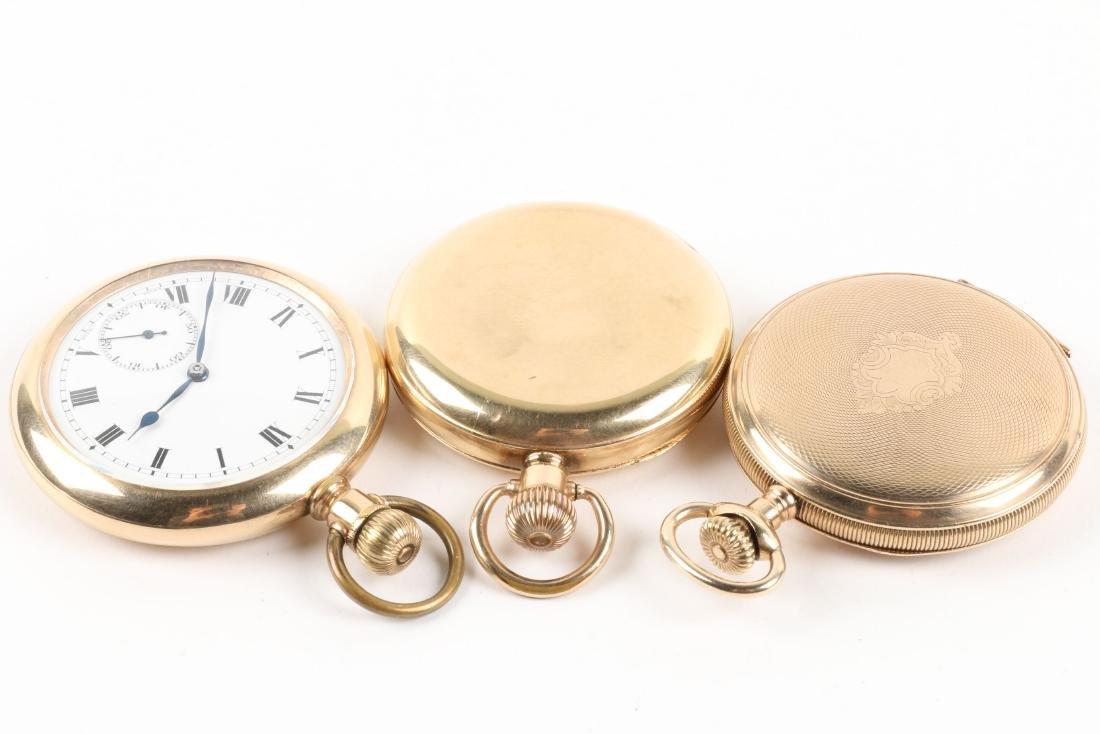 Swiss, Hunter & Open Face Pocket Watches - 4