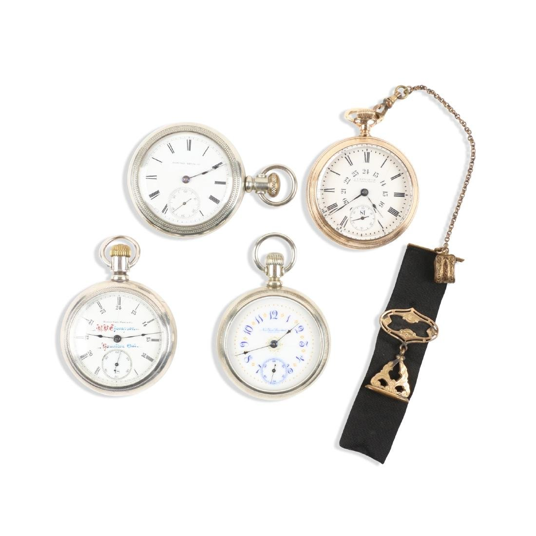 American, Assorted Pocket Watches