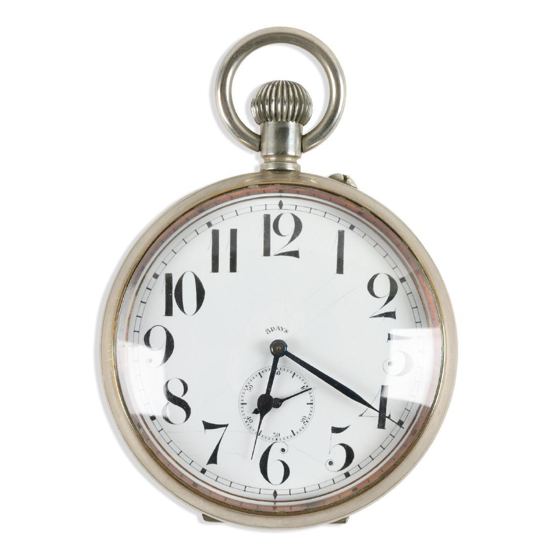 Swiss, 8-Day Travel Clock