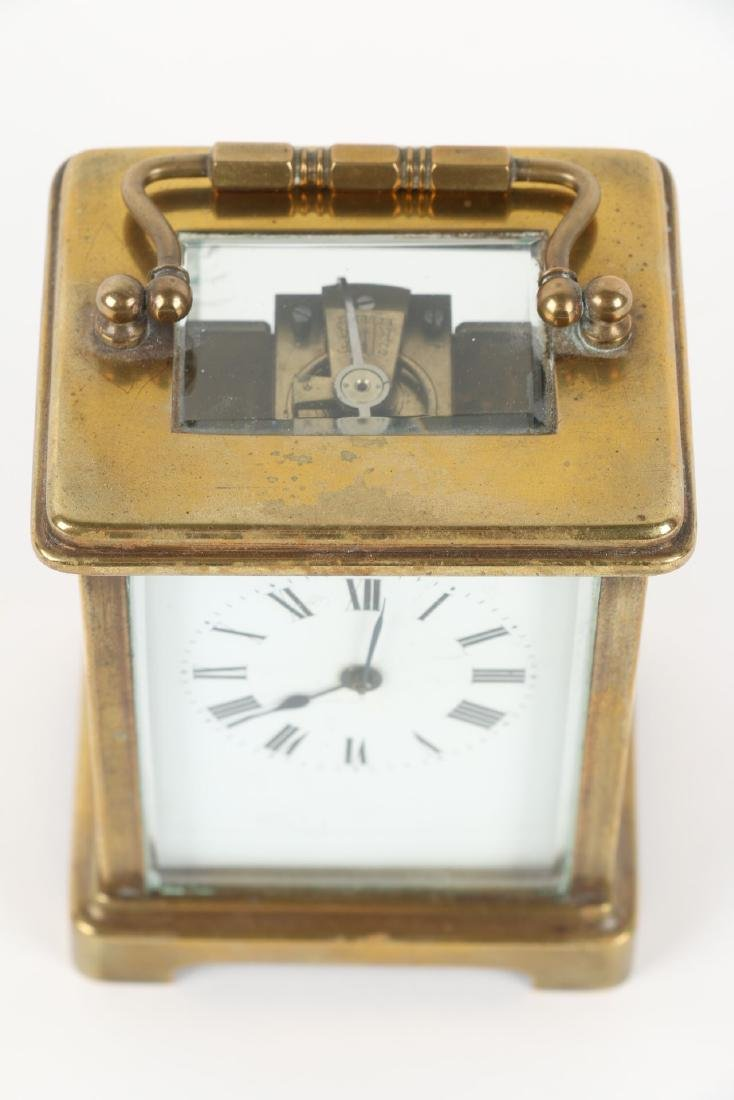 French, Brass Carriage Clock - 2