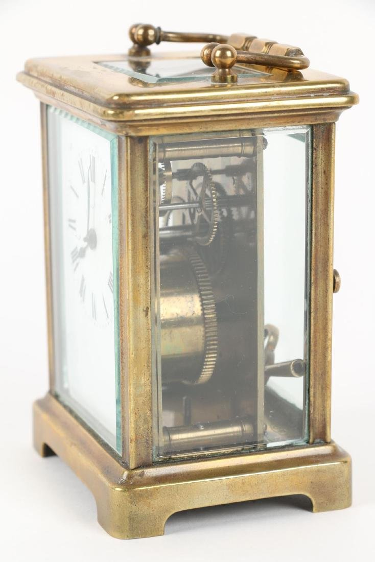French, Brass Carriage Clock - 3