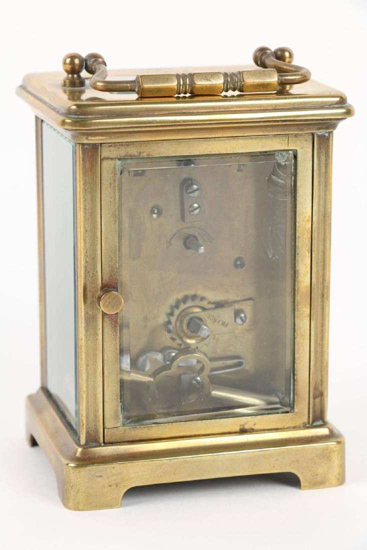 French, Brass Carriage Clock - 4