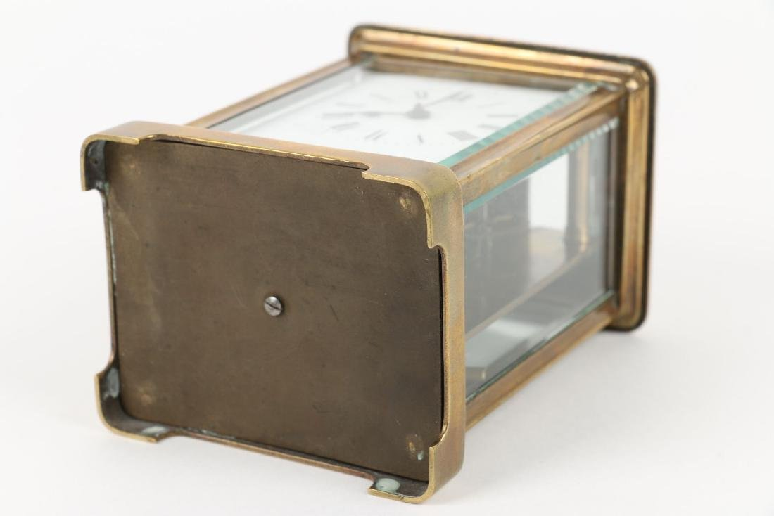 French, Brass Carriage Clock - 9