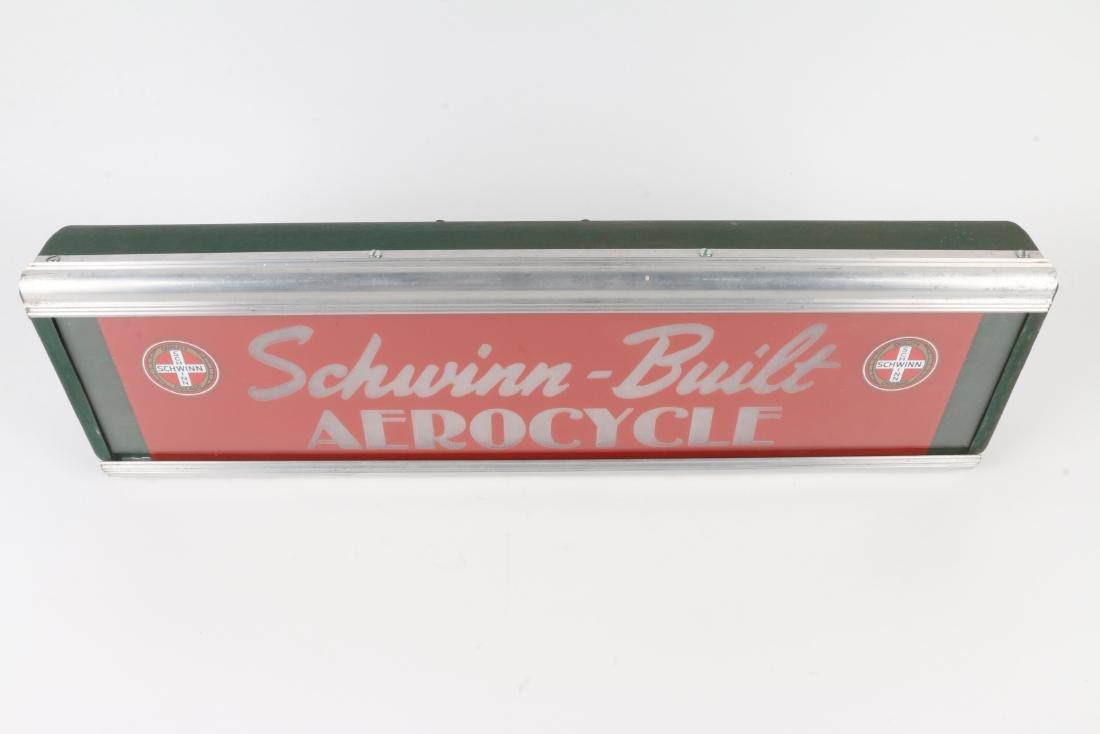 Schwinn Built Aerocycle Sign - 4