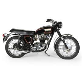 1967 650cc Triumph TR6R Motorcycle
