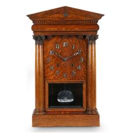 """Pequegnat """"Citadel"""" Shelf Clock"""