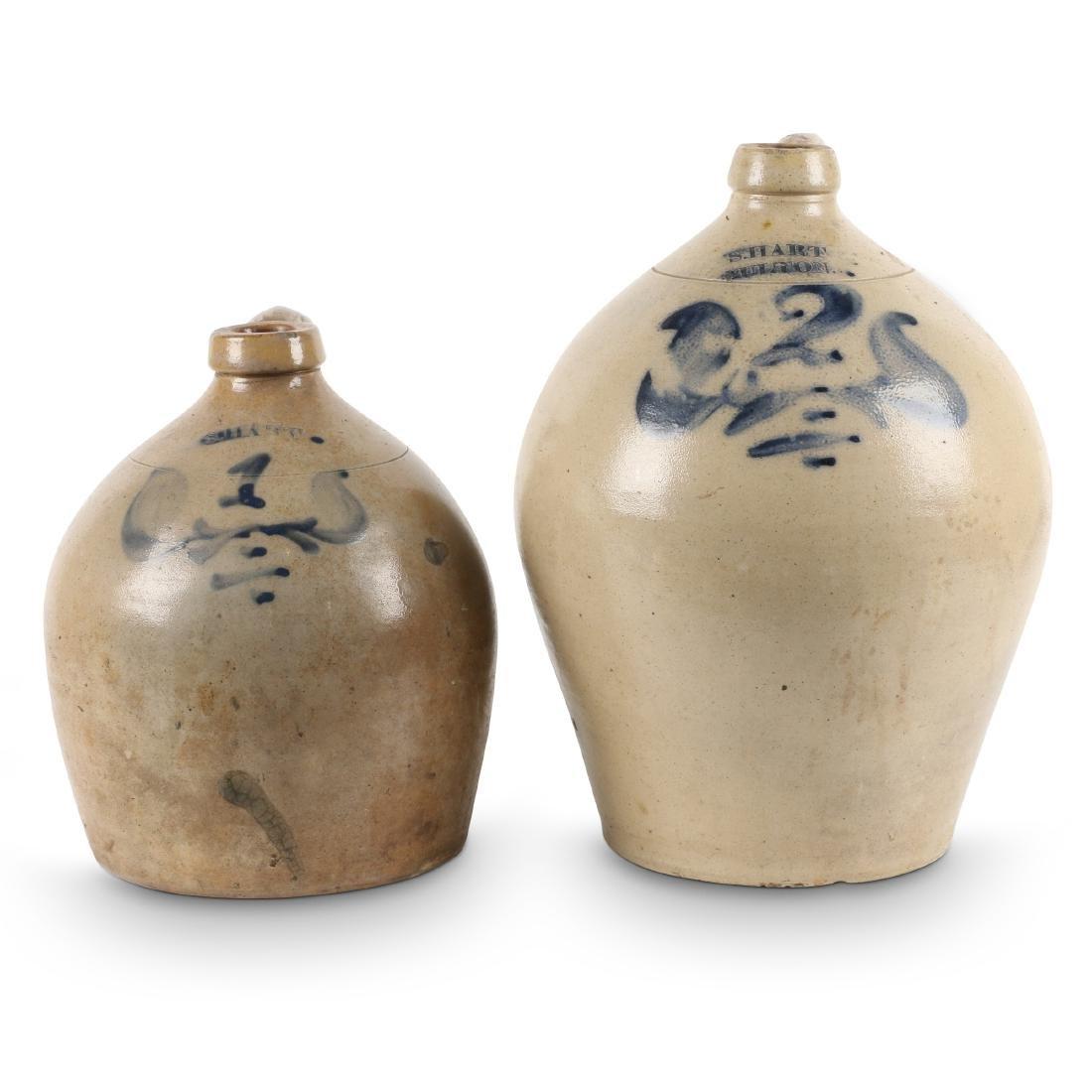 S. Hart Stoneware Jugs