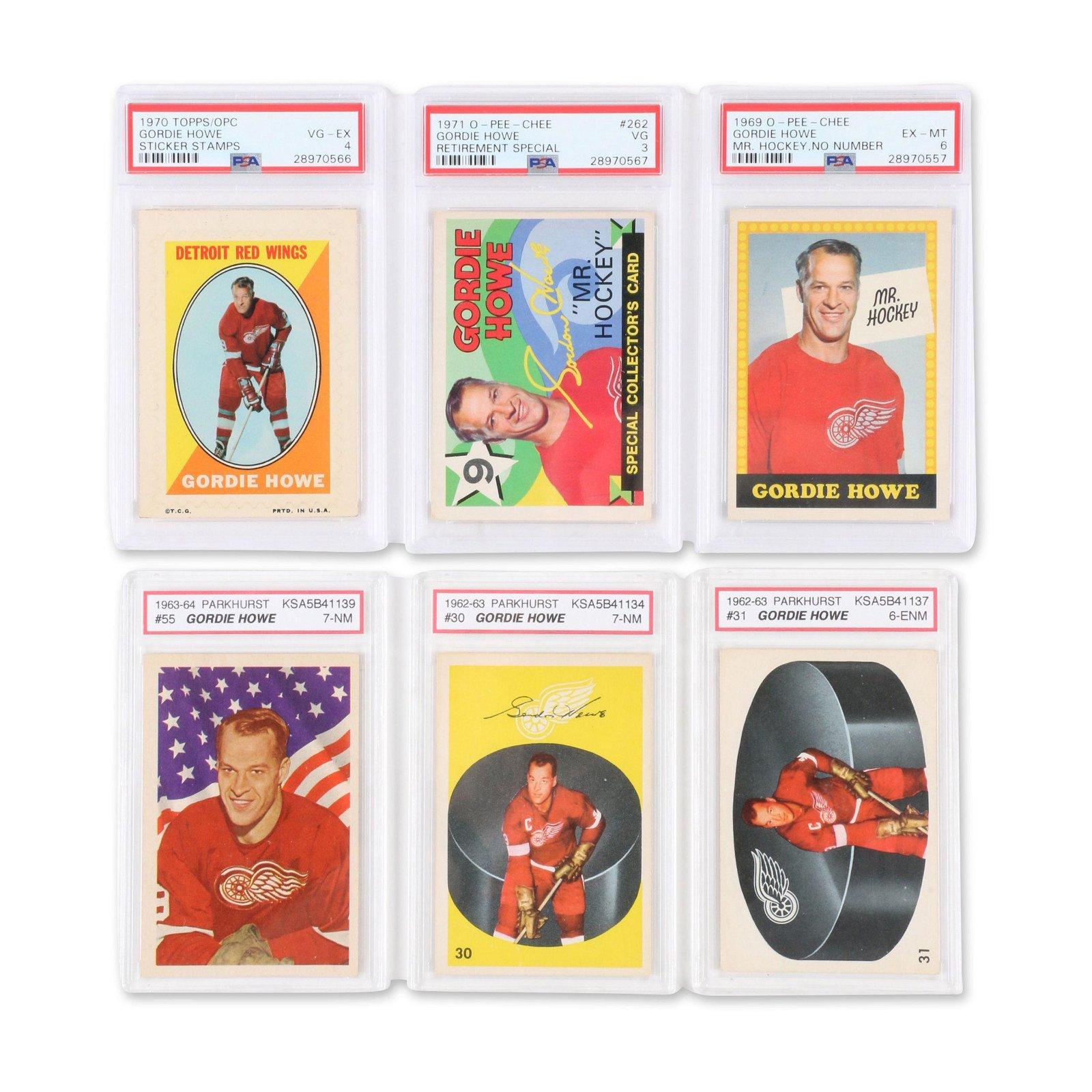 Gordie Howe Hockey Cards