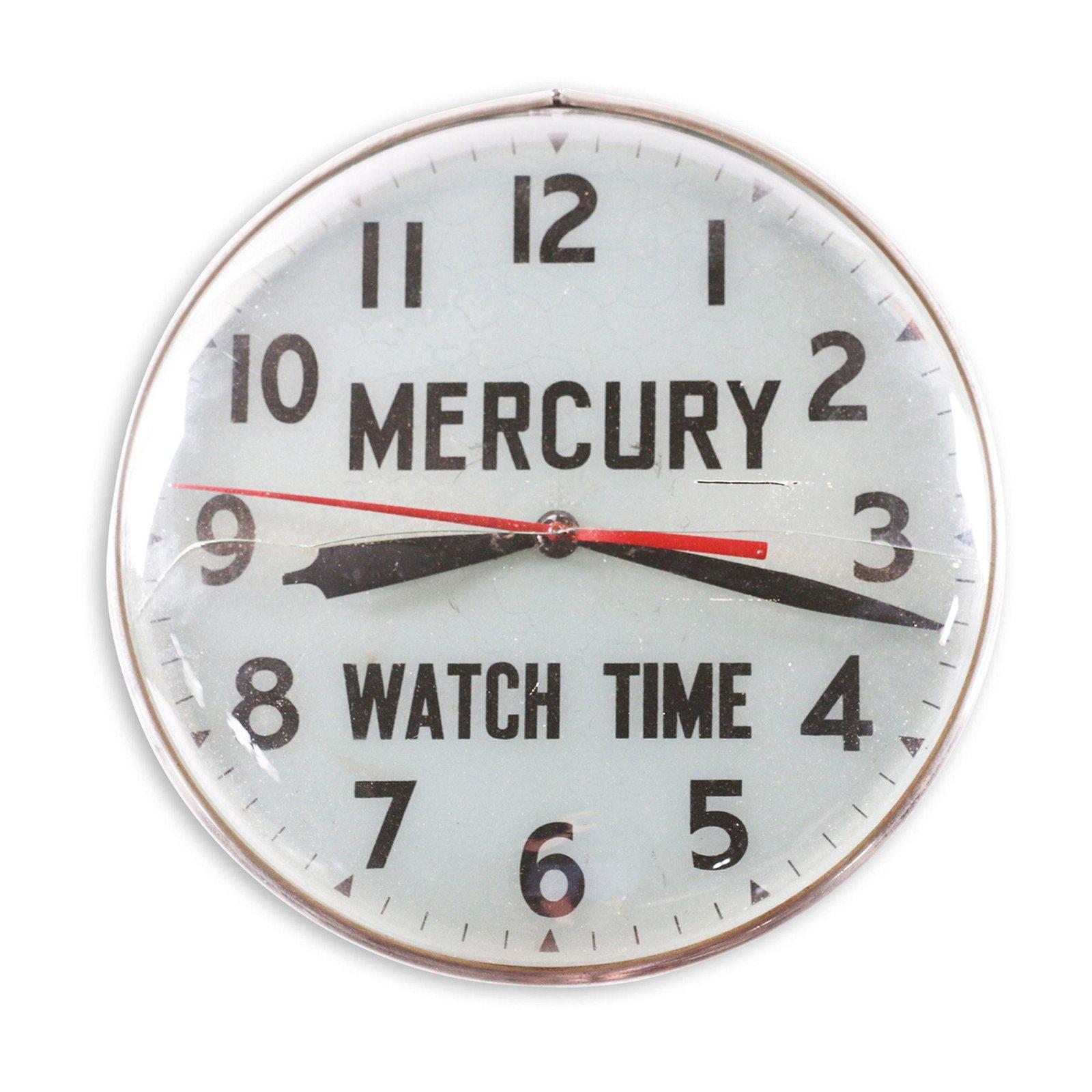 Mercury Watches Backlit Clock