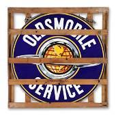 NOS Oldsmobile 5' Dealer Sign
