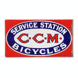 CCM Bicycle Service Flange Sign
