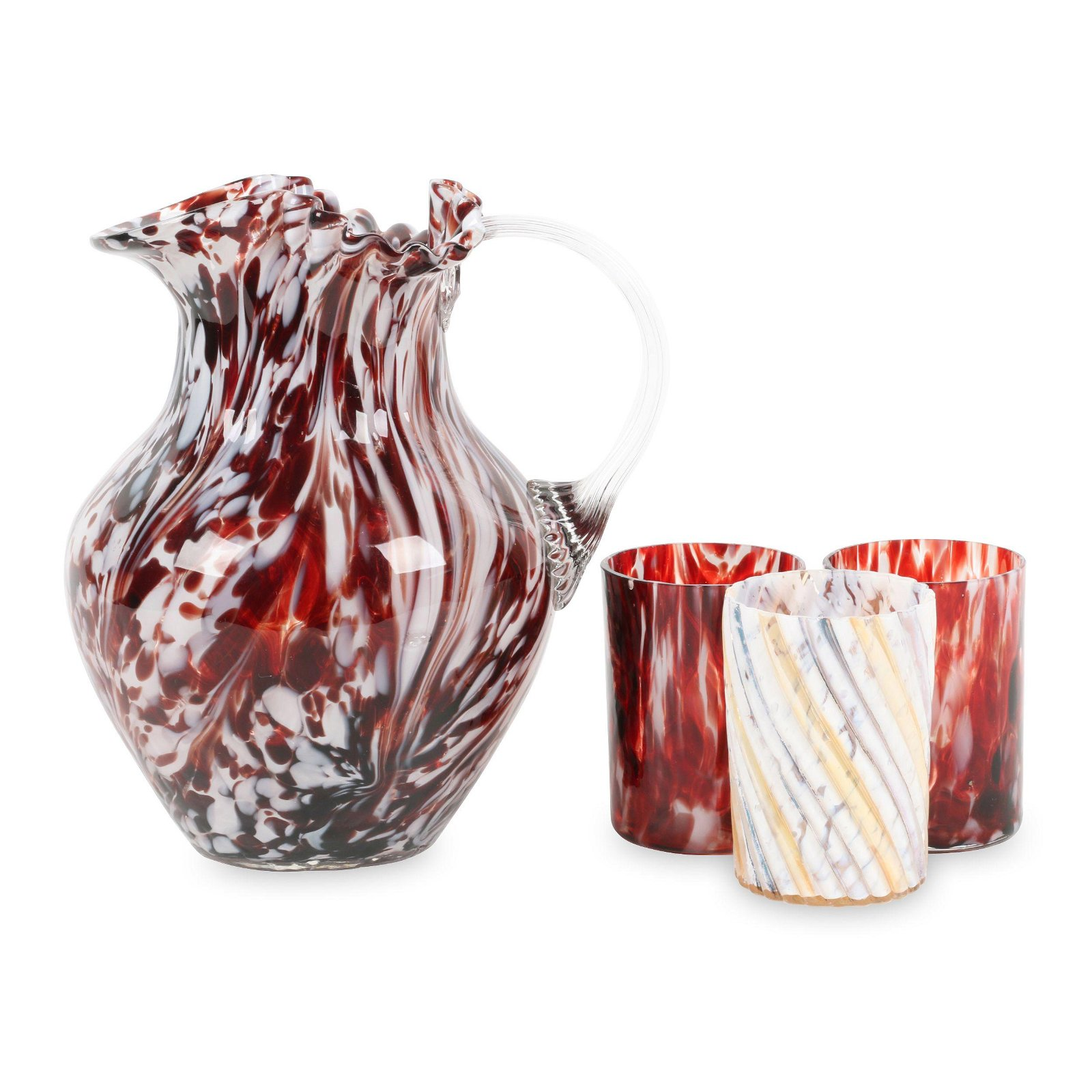 Victorian Spatter Glass