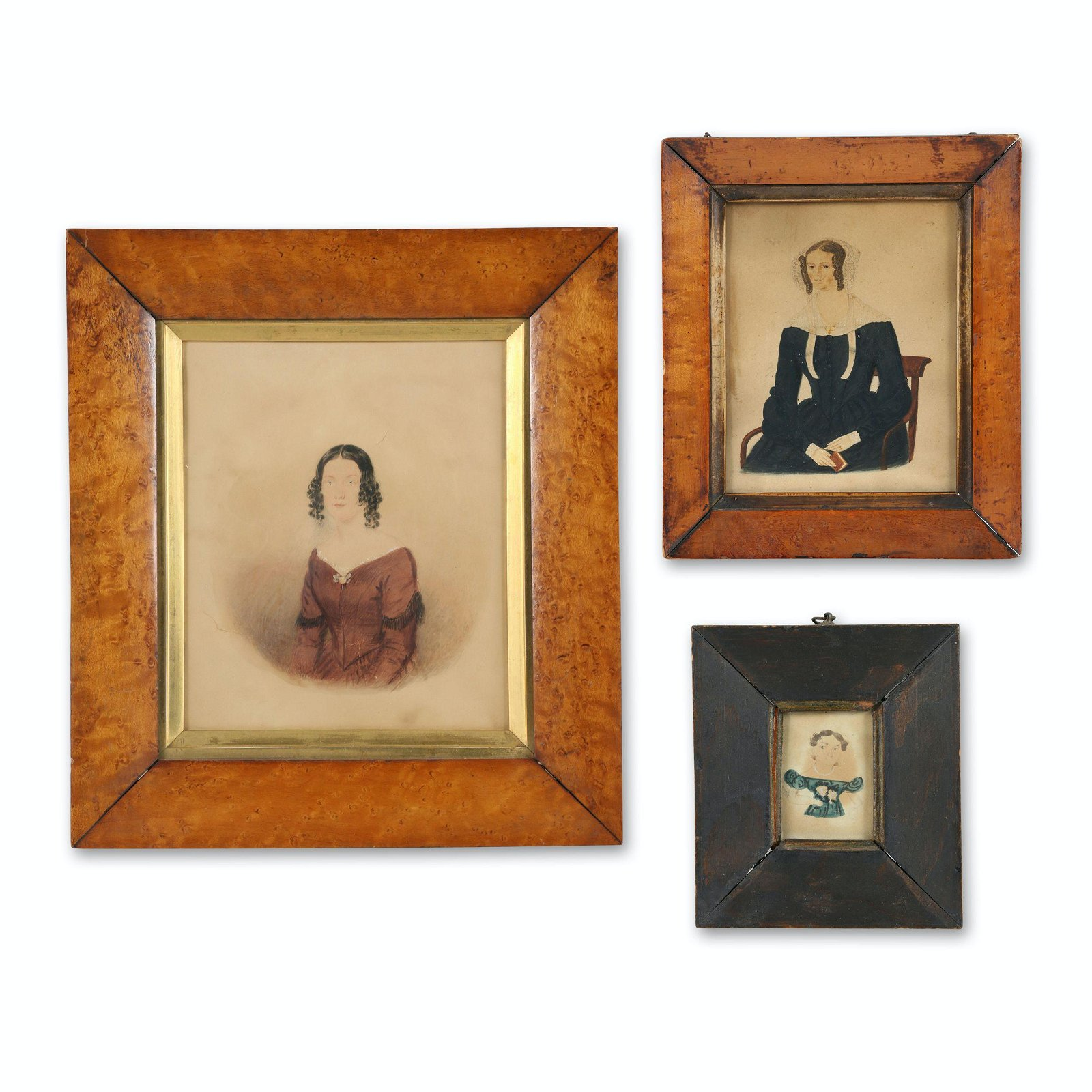 Primitive Portraits of Ladies