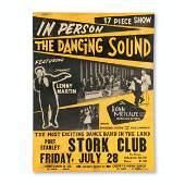 Port Stanley Stork Club Concert Poster
