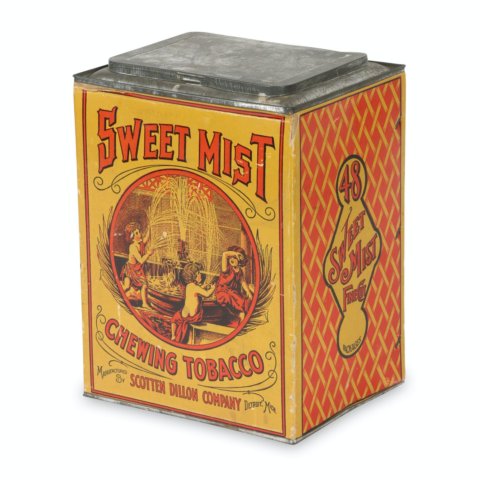 Sweet Mist Chewing Tobacco Store Canister
