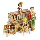 Li'l Abner Dogpatch Band Tin Litho Toy