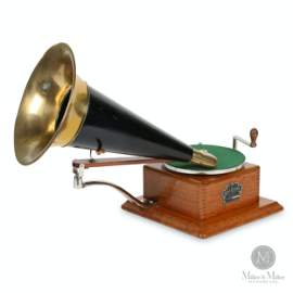 Berliner Model A Trademark Gramophone