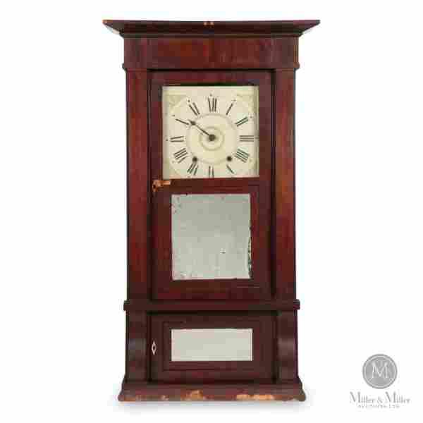 Boardman & Wells Empire Clock