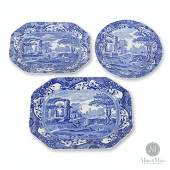 Staffordshire Transferware Platters