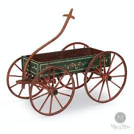 Wettlaufer Decorated Child's Wagon