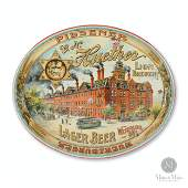Oval Huethers Lion Brewery Tray