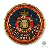 Carling's Brewery Red Cap Ale Beer Tray
