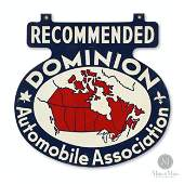 Dominion Automobile Association Hanging Sign