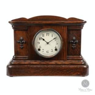 """Pequegnat """"Brampton"""" Mantle Clock"""