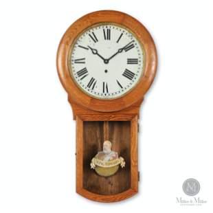 "Pequegnat ""King Edward"" Wall Clock"