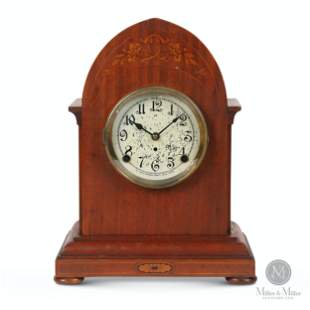 """Pequegnat """"Paris"""" Mantle Clock"""
