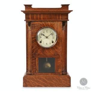 """Pequegnat """"Hamilton Tall"""" Mantle Clock"""