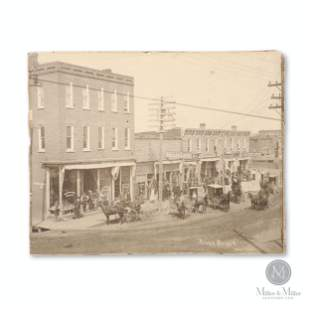 Campbellford, Ontario, River Block, West End Photograph