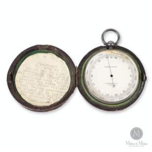 F. Darton & Co., London Pocket Barometer Altimeter