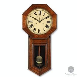 """Pequegnat """"Regina"""" Wall Clock"""