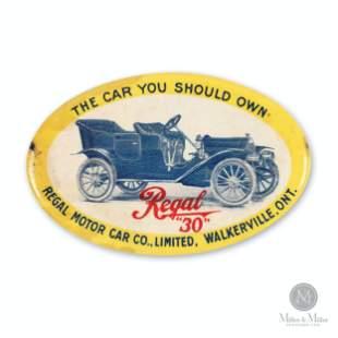Regal Motor Car, Walkerville Pocket Mirror