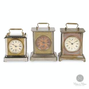 American Carriage Style Alarm Clocks