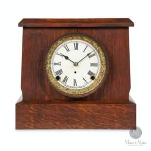 """Pequegnat """"Soo"""" Mantle Clock"""