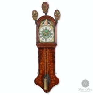 Frisian Inlaid Staart Klok Wall Clock