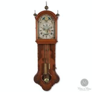 Frisian Carved Staart Klok Wall Clock