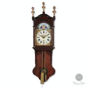 Frisian Short Case Wall Clock