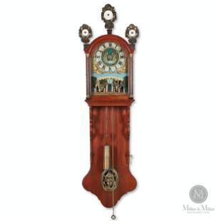 Frisian Animated Staart Klok Wall Clock