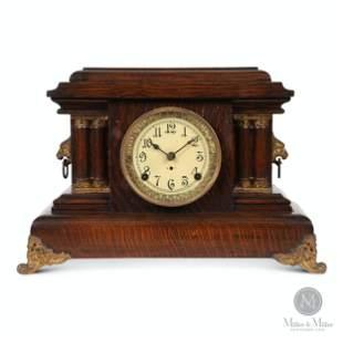 """Pequegnat """"Ontario"""" Mantle Clock"""