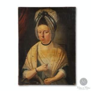 18th Century Portrait of A Woman
