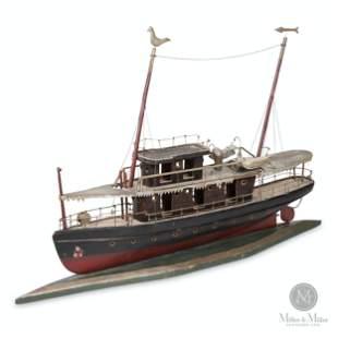 Double Decker Model Ferry Boat