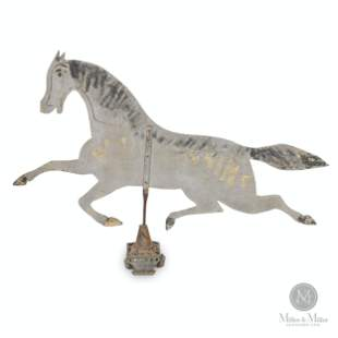 Horse Weathervane in Sheet Iron