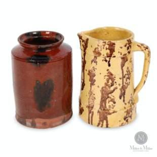 Owen Sound Jug and Redware Jar